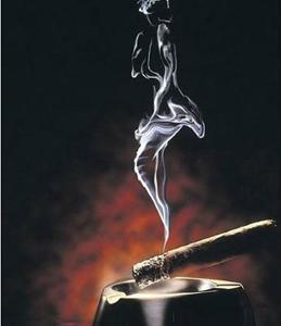 chica de humo letras: