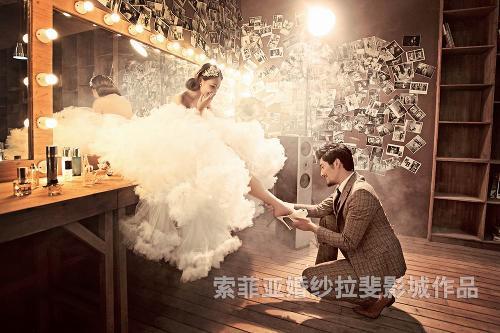 合肥索菲亚婚纱摄影.安德鲁的书房