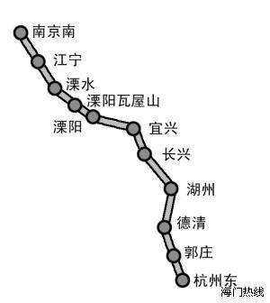南京南到青岛高铁g230地图