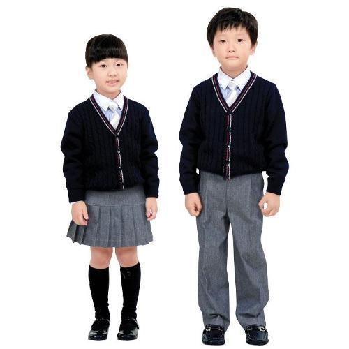 西装款式校服铅笔画