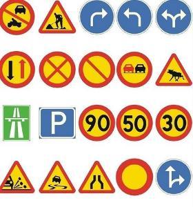 高速公路标志