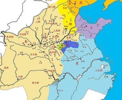 战国时期地图-战国七雄 中国东周后期七个强势诸侯国的统称 搜狗百科