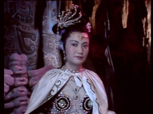 央视版《西游记》白骨夫人;; 白骨精;; 西游记白骨精图片