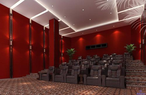 蛟龙国际紫荆影城依靠太平洋电影院线丰富的资源和紫荆管理团队成熟