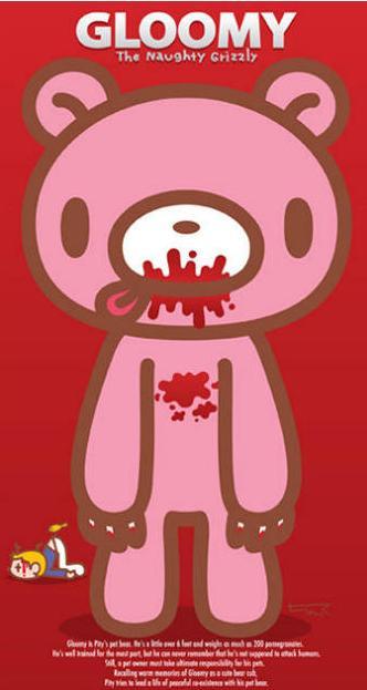 gloomysunday_全部版本 历史版本             暴力熊,英文名gloomy(阴郁) [1],又名