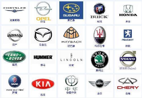汽车标志高清图片