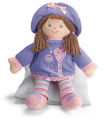 洋娃娃是小孩子心灵抚慰的有效东西之一.