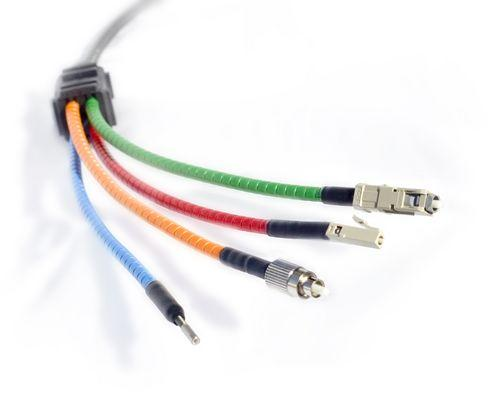 光纤接线方法图