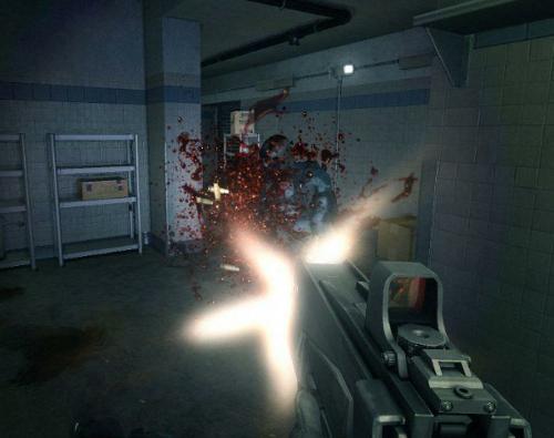 游戏界面   F.E.A.R. Combat具体特性如下:   10种多人游...