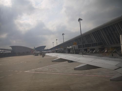 成都双流国际; 去上海浦东国际机场;