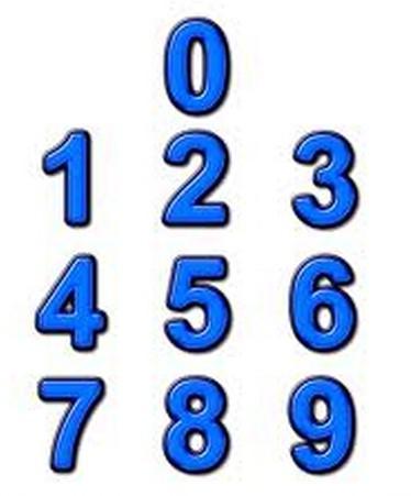 阿拉伯数字_阿拉伯数字的写法