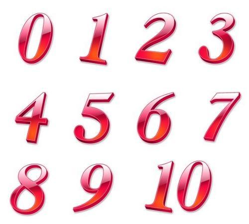 阿拉伯数字的写法