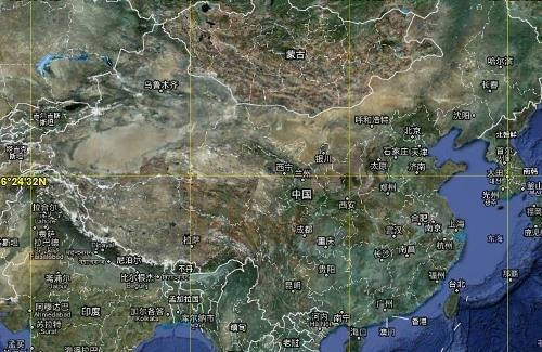 谷歌地图中新增了天气图层