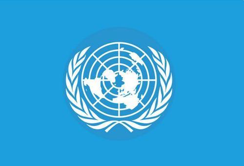 家公用标示_公共标识标; 关键词:联合国国旗; 联合国国旗矢量图_国家