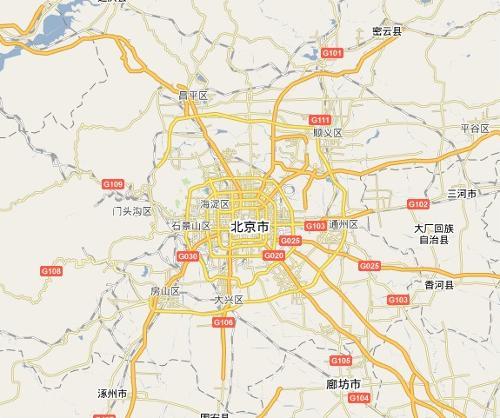 北京地图 - 搜狗百科