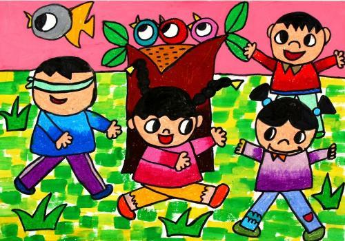 关于儿童画的特点与指导