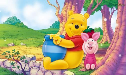 维尼是一头可爱的小熊