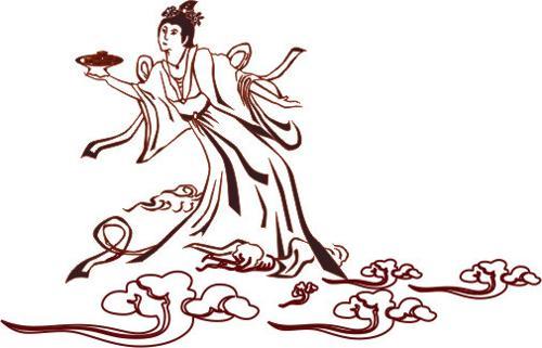 中秋节 嫦娥 手抄报 简笔画