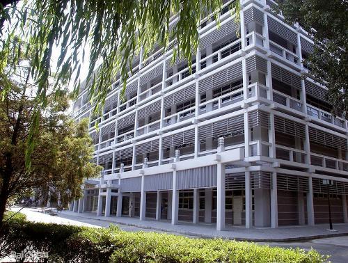 北京外语大学校园图-北京外国语大学图片