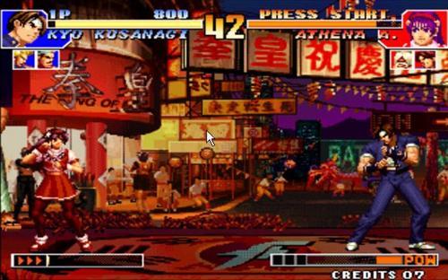 拳皇   拳皇是KOF系列游戏的一种,即