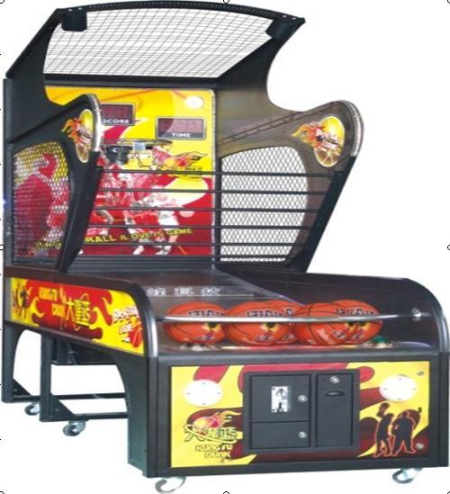 投篮球游戏机图片