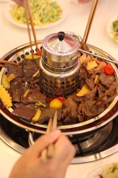 立体锅王集靓汤,火锅,无烟烧烤