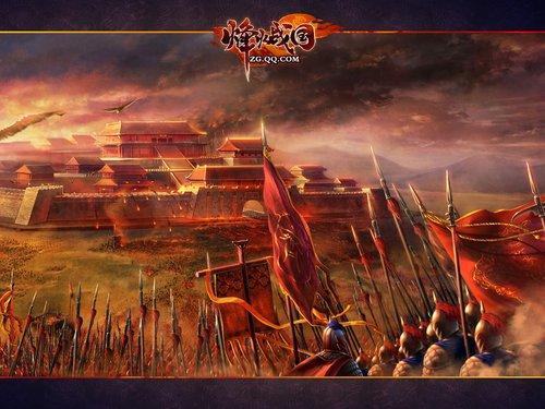 烽火战国 网页游戏图片