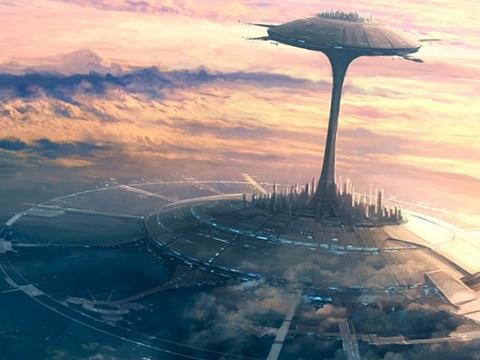 青岛魔法美术馆太空堡垒_罕见巫王的魔法太空堡垒空中花园幕府将