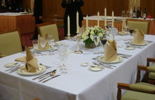 宴会饭桌手绘图