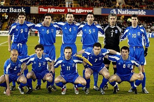 希腊国家男子足球队图片