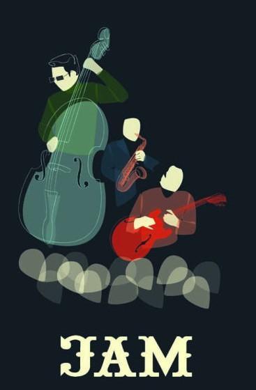 爵士音乐节创意海报设计欣赏   视觉中国; 超酷的爵士音乐节海报设计