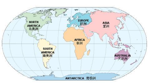 世界地图洲际分布图; 世界地图图片展示;; 世界地图全图高清版图片