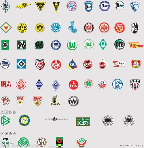 足球 圆形  logo