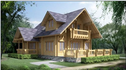 花絮视频 一,什么是现代木结构房屋 现代木结构房屋是指以木材及木质