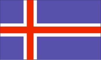 北欧冰岛国旗图片