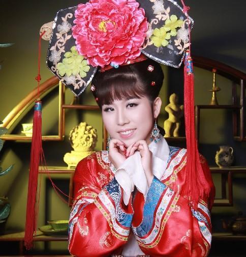 清朝古装美人手绘