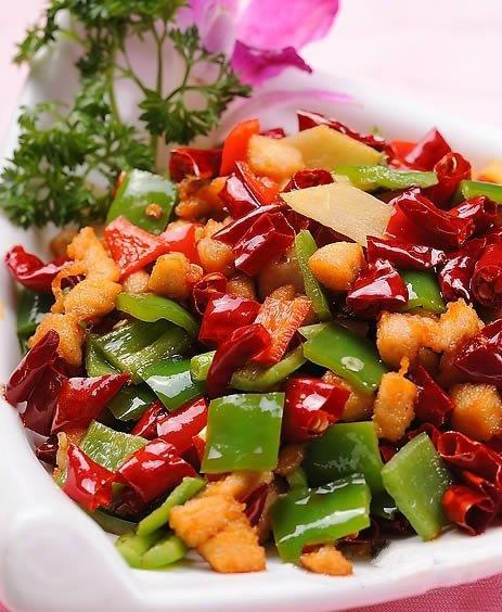 黄花菜炒辣子鸡丁2015天是的年哪美食节桂林图片
