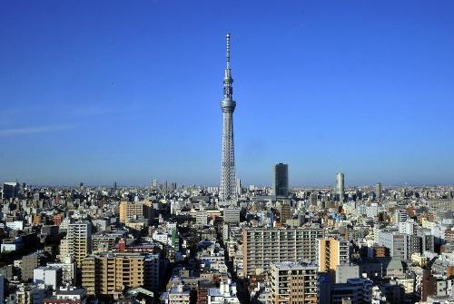 东京著名建筑手绘