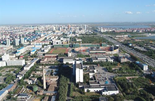 大庆东城区规划图_