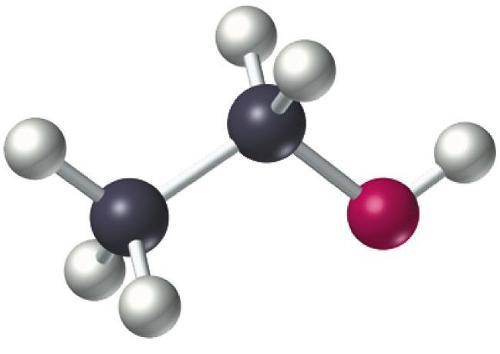 乙醇分子结构