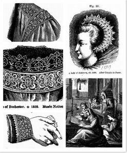 16世界欧洲公爵肖像中的蕾丝制品