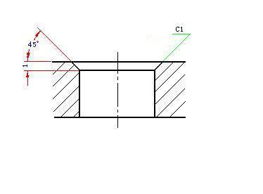 三围倒角怎么画手绘