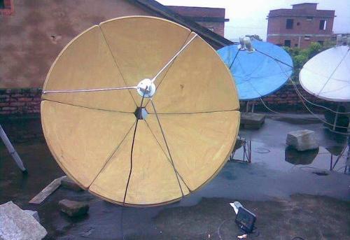 卫星铁锅矢量图