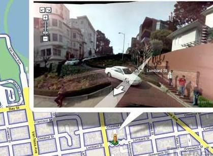 谷歌地图高清街景