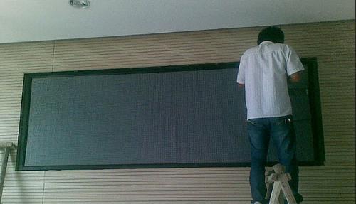 led显示屏制作安装施工方案