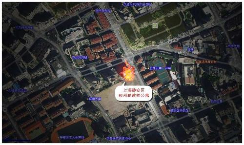 11 15上海静安区高层住宅大火