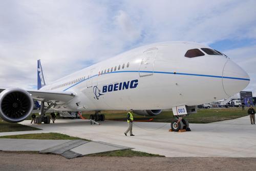 署了60架波音787飞机购买