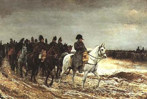 暴操俄罗斯_1812年5月,拿破仑率领操12种语言的57万大军远征俄罗斯.