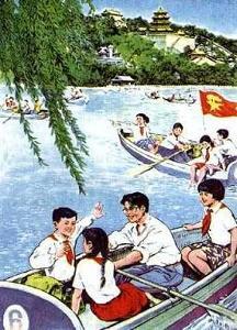 原为1955年的儿童故事片《祖国的花朵》中的插曲