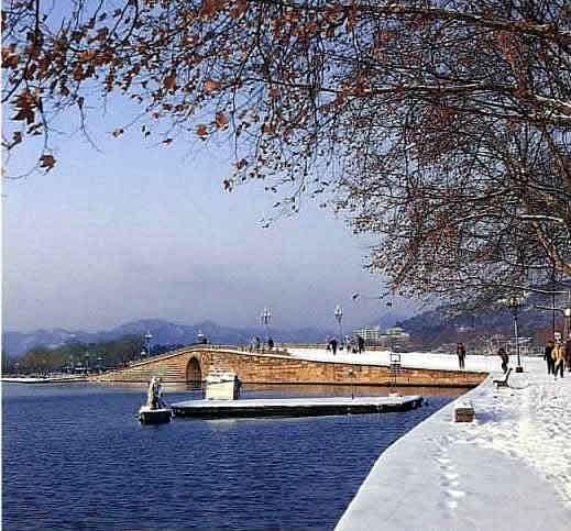 断桥(杭州西湖景点)
